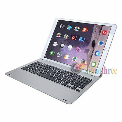 Aluminum Alloy Body Backlit Bluetooth Keyboard + USB Charger For iPad Pro 12.9''