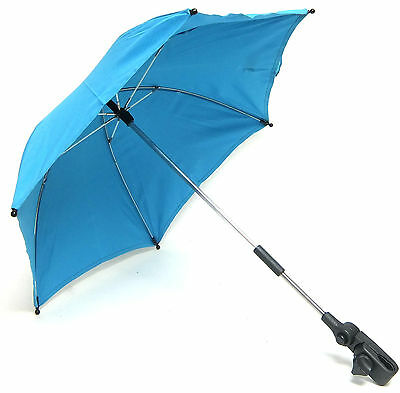 Mamas & Papas Universal Baby Pushchair Parasol / Umbrella - Aqua - New