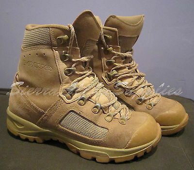 Uk British Army Surplus Issue Super Grade Tan Lowa Desert Elite Combat Boot