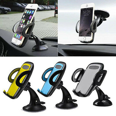 Universal 360°Car Windscreen Holder Dashboard Mount Stand For Cell Phone GPS Lot