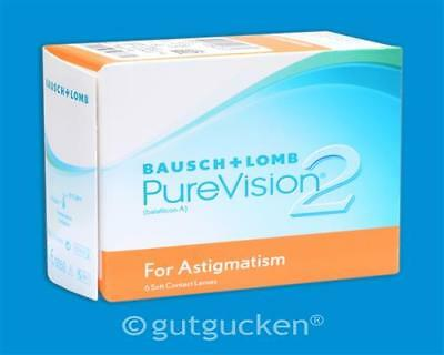 PureVision 2 HD For Astigmatism - 6er