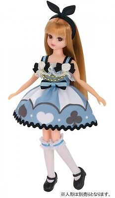 Takara Tomy Licca Doll Party in Wonderland Dress (Doll not included)