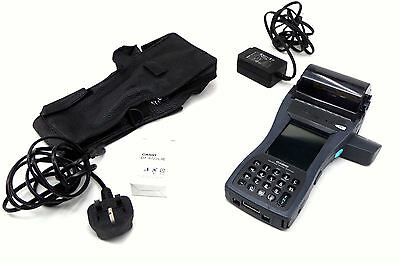 CASIO IT-3000 Handheld Ticket Printer With Charger Wallet and New Battery