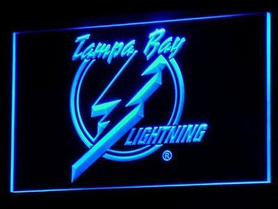 Tampa Bay Lightning LED Neon Sign Light NHL Hockey Sports Team
