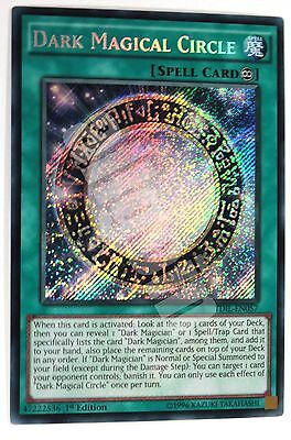 TDIL-EN057 1x DARK MAGICAL CIRCLE (Circolo Magico Nero) Secret Rare Yugioh