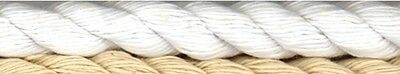 NEW | Birch | Cotton Piping Cord | White | FREE SHIPPING