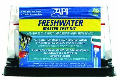 API Freshwater Master Test Tap Water Complete Kit Healthy Aquarium Over 800 Test
