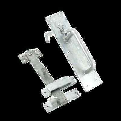 Securit 20/4s Med Suffolk Latch 215mm Galvanised + Tape Measure