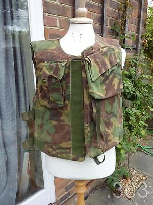 British Military Army DPM Camouflage Body Armour Protective Vest with Filler
