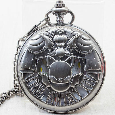 Final Fantasy Xiv Moogle Pocket Watch - Japan Import - New