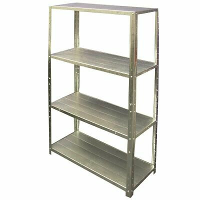 SCA 4 Shelf Unit - Galvanised, 710mm, 50kg
