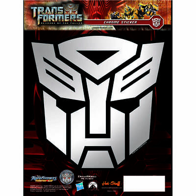 Hot Stuff Sticker - Transformers Autobots, Chrome