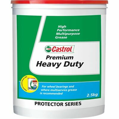 Castrol Premium Heavy Duty Grease Tub - 2.5kg