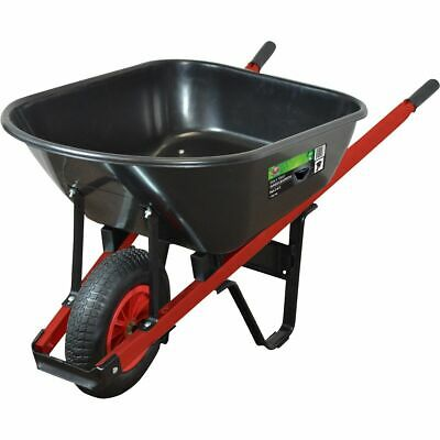 SCA Wheelbarrow - Poly Tray, 86 Litre
