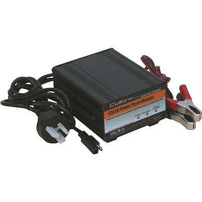 Calibre Power Pack Battery Charger - 3 Stage, 12 Volt, 6 Amp