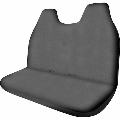 SCA Canvas Ute Seat Cover - Charcoal, Built-in Headrests, Size 90, Front Bench