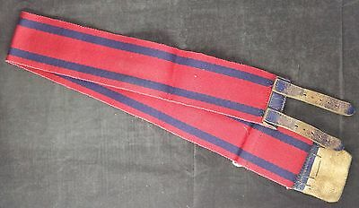 """Circa 1960s Royal Engineers Corps Stable Belt, Measures 38"""" at max"""