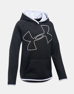 Girl's Under Armour Fleece Jumbo Logo Hoodie - 1284876
