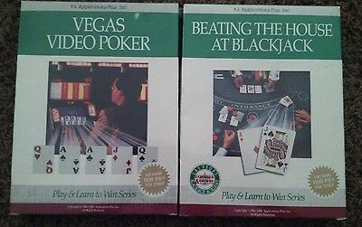 1989 Beating The House At Blackjack Card Counting Software Plus & video poker