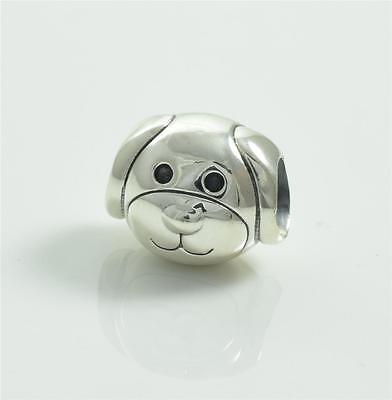 Authentic Genuine Pandora Silver Dog Charm 791707