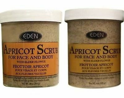 Eden Apricot Face & Body Scrub (Available In Various Sizes) Free Delivery