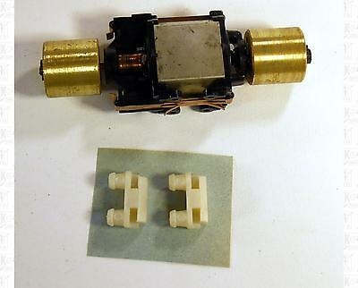 Athearn HO Parts: Motor With Brass Flywheels 5/8 X 5/8