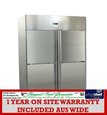 FED GRAND ULTRA Four 2/1 S/S door upright GN Freezer GASTRONORM CABIN N1410BTM