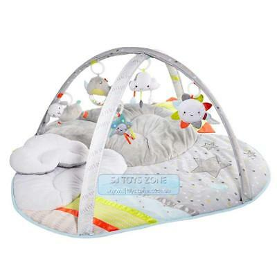 Skip Hop Silver Lining Baby Play Activity Gym Playmat Sound Light Rattle Mirror