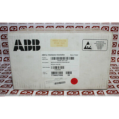 ABB SPAM 150 C-CB current measuring multifunction relay - New Surplus Open
