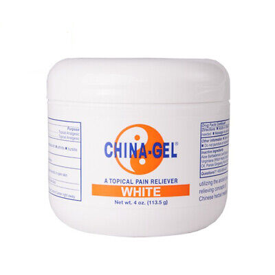 China Gel - Topical Muscle Pain Reliever Herbal Therapeutic Gel 4oz Jar