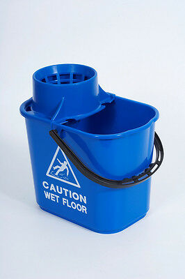 Abbey Blue Professional Mop Bucket 15L + Tape Measure