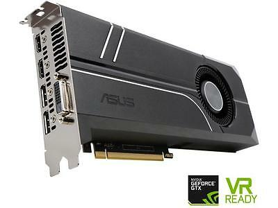 ASUS GeForce GTX 1060 TURBO-GTX1060-6G 6GB 192-Bit GDDR5 PCI Express 3.0 HDCP Re