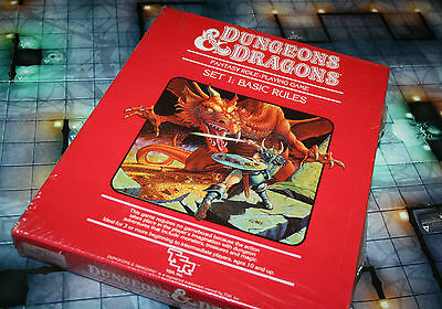 Dungeons & Dragons D&D Set 1: Basic Rules - TSR 1011 - NEW & SEALED!