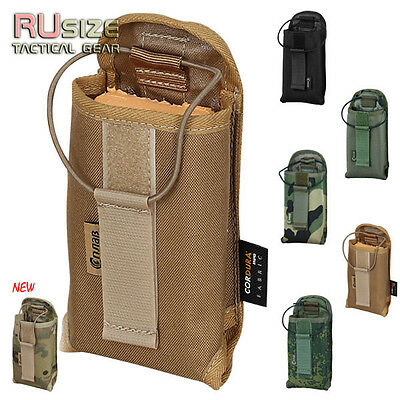 Tactical Pouch for radio MOLLE/PALS Military Carry Bag Holder Airsoft Army