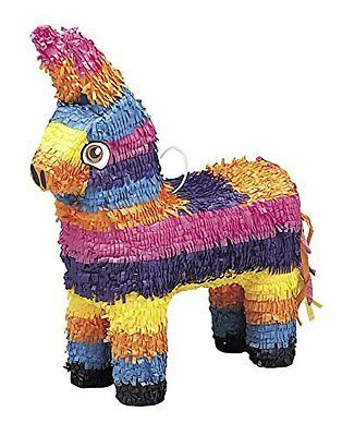 Mexican Donkey Pinata Kids Fun Birthday Party Games or Decoration NEW