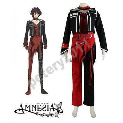 Custom-made Amnesia Shin Cosplay Costume Hallowen Clothes Halloween Cos
