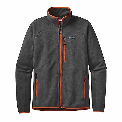 Patagonia Men's PERFORMANCE Better Sweater™ Fleece Jacket - Forge Grey FGE - XL