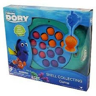 Disney Finding Dory Shell Collecting Fishing Game New