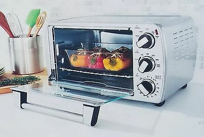 NEW Oster Countertop Oven Extra Large XL Stainless Steel Convection Toaster Oven