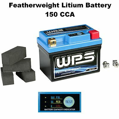 Featherweight Lithium Ion Battery 150 CCA Scooter Light Weight