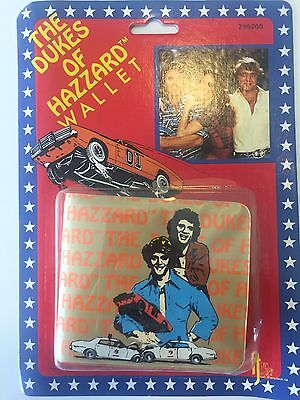 Vintage The Dukes of Hazzard Wallet 1982 Warner Bros.