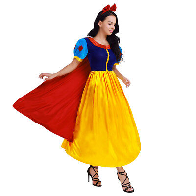 Snow White Princess Cosplay Party Costume Halloween Fairytale Baby Fancy Dresses