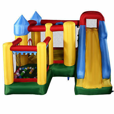 Inflatable Kids Bounce Playhouse Jumper Trampoline Castle Ball Pit Jump N Slide