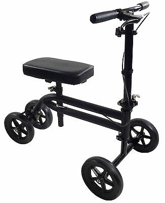 Economy Knee Scooter Steerable Knee Walker Medical Leg Scooter Crutch Preowned