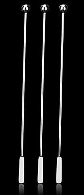 7.4 Inches Small Rectangular Paddles Stainless Steel Swizzle Stick Cocktail