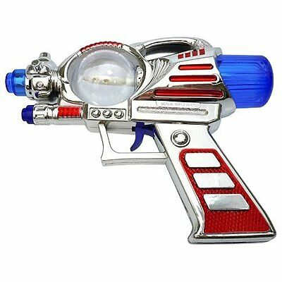 Light-Up Toy Space Gun with Sound