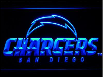 San Diego Chargers LED Neon Sign Light NFL Football Sports Team
