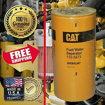 Caterpillar CAT GENUINE Fuel Water Separator 133-5673 1335673 Dozer Scraper