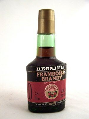Miniature circa 1986 REGNIER FRAMBOISE BRANDY (Rasberry) Isle of Wine