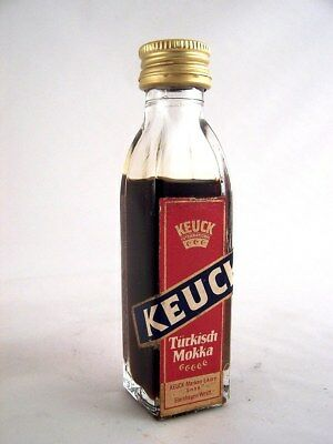 Miniature circa 1982 KEUCK TURKISH MOKKA Isle of Wine